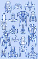Ship doodles 2.4.19 by stourangeau