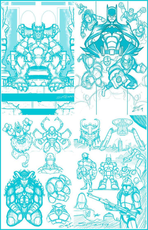 Digital Sketchbook 021919 by stourangeau
