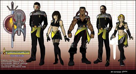Updated I.S.S.Titan Crew by stourangeau