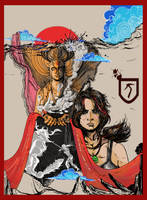 Tomb Raider A Survivor is Born by apra-art