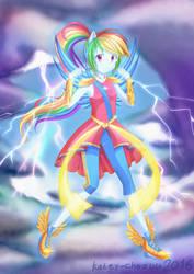 New Magical Rainbow Dash by KateyChazuu