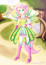 New Magical Fluttershy by KateyChazuu