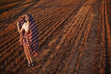 In the field by Black-Kota