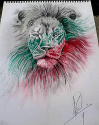 Bulgarian lion by SARAFOV