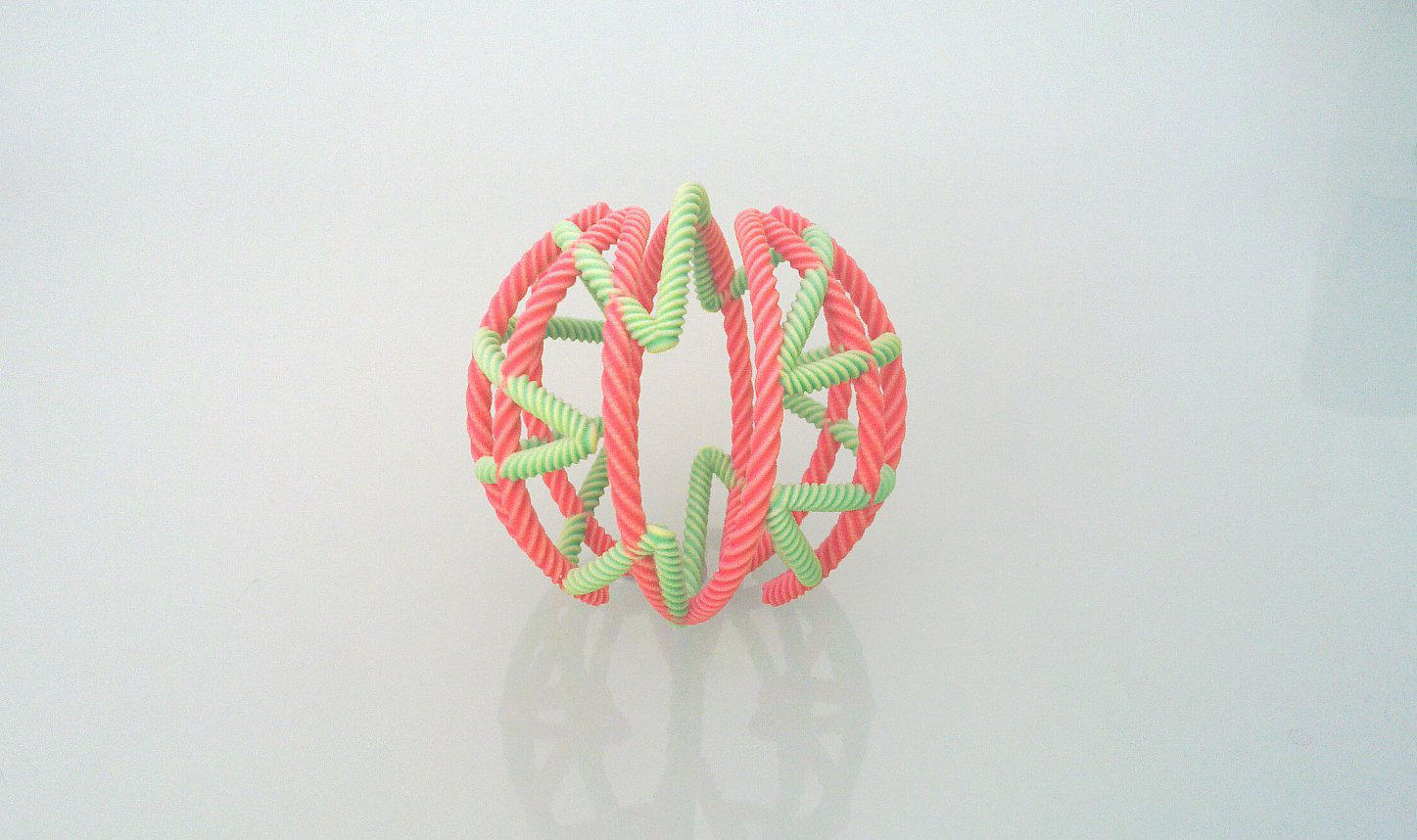 Sandstone String Ball 2 by llewelld
