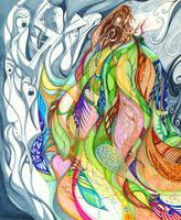 Auralia's Cloak #1 by byKarenRenee