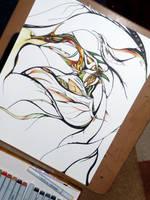 Dragonish - WIP by byKarenRenee