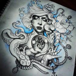 Heart Of The Ocean by illogan