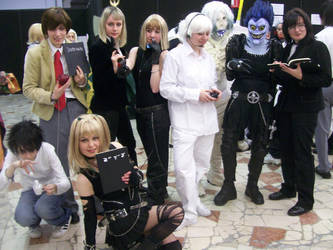 Death Note - The group II by Cospoison