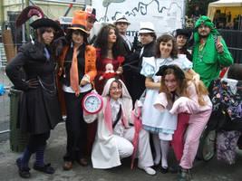 Wonderland group II by Cospoison