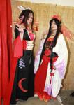 Yuuko and Ashura by Cospoison