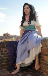 Esmeralda cosplay by Cospoison