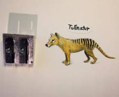 Thylacine (Thylacinus cynocephalus) - 1936 by Tulinatur