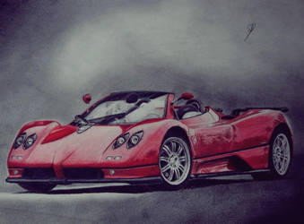 Pagani Zonda by almorti123