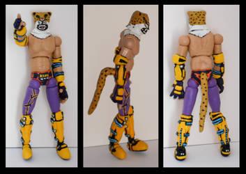 Custom Action Figure - King (Tekken) by rittie145