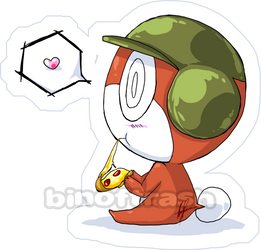 Tororo Sticker. by CARROTmanga