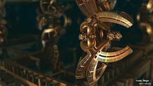 Cosmic Hanger by miincdesign
