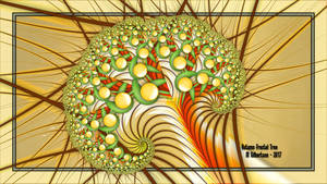 Autumn Fractal Tree-UF Chain Pong 752 by miincdesign