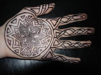 Celtic Sharpie tattoo by Darrogath