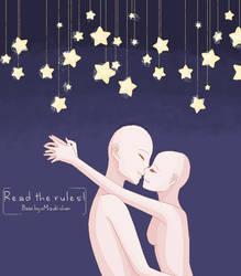 Kiss Under The Stars Base by Emiisaur