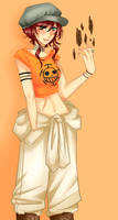 One Piece OC : Jinn Raven by Fidchelle