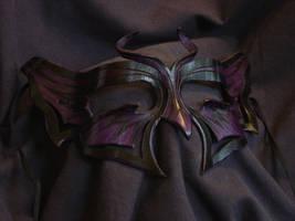 Butterfly: black + purple by VirtualMessiah