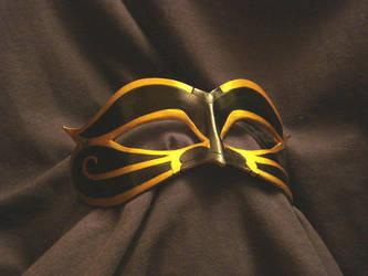 Large Egyptian: Black + Gold by VirtualMessiah