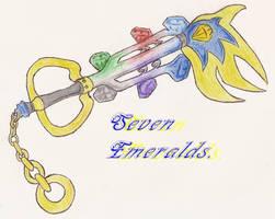 .:KeyBlade:.Seven Emeralds by FayeleneFyre