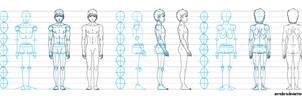 Base draw male - tutorial by anredera