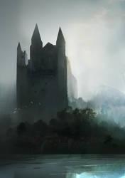 transylvanian Castle by Lapponia