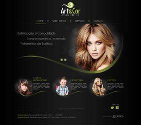Layout - ArteCor Studio by lcdesigner