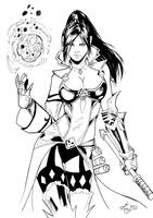 wizard from diablo 3 by danoliveira - Inks by eastphoto99
