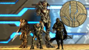 Top-known members of Mantle's Enforcers. by Koldraxon