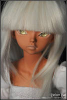 The Girl in White 1 by VelvetBat