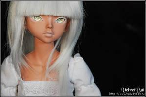 The Girl in White 3 by VelvetBat