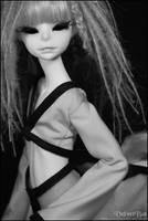 Vlada in black x white 001 by VelvetBat
