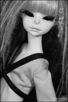 Vlada in black x white 002 by VelvetBat