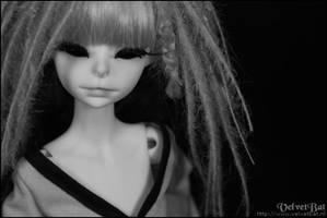 Vlada in black x white 003 by VelvetBat