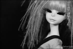 Vlada in black x white 007 by VelvetBat