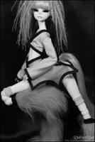 Vlada in black x white 008 by VelvetBat