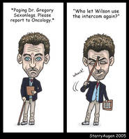 Paging Dr. House... by StarryAugen
