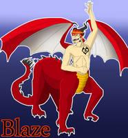 BLaze FireHeart by Meazigread