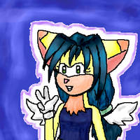 A Sonic-style chara by tranquillitystar