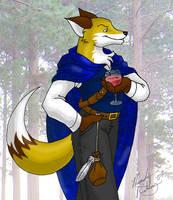 The Notorious Plague Fox by kittifox