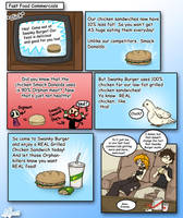 Fast Food Commercials by MasterRambler