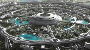Futuristic Paradise by jfliesenborghs