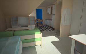 My room by Zyxakarene