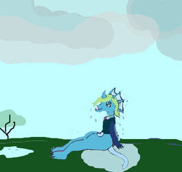 Weekly Prompt 40 after the storm by Firekitty8