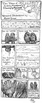 The Tale of Two Crotchety Crows by astercrow