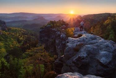 Living on the Edge by NicolasAlexanderOtto